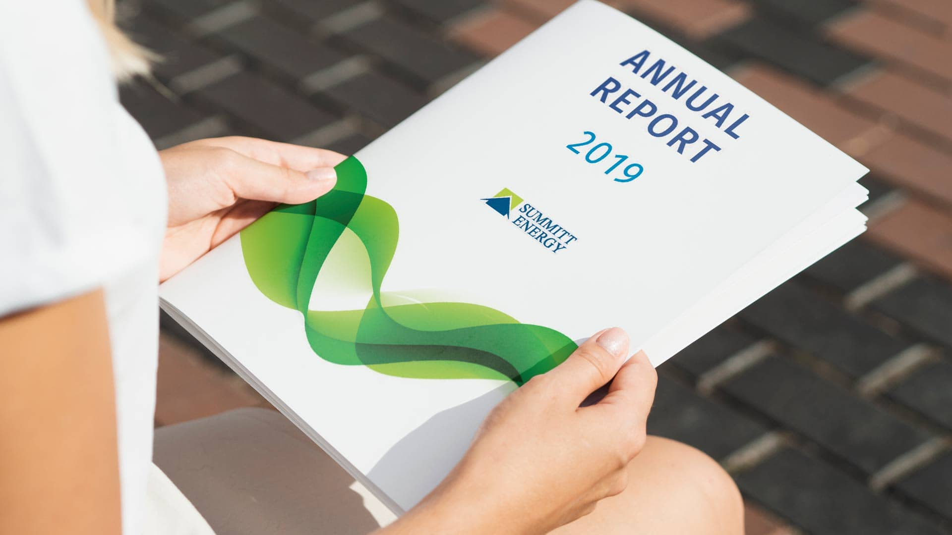 Annual report of energy company