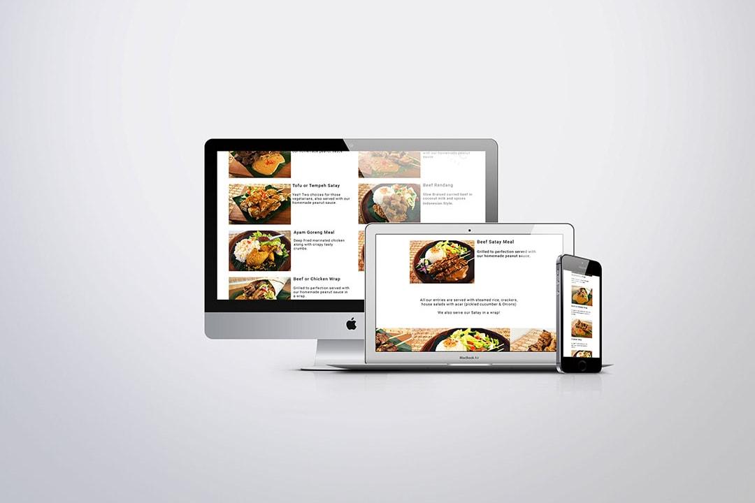 Restaurant Design and order website